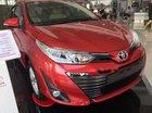 Bán Toyota Vios đời 2019, màu đỏ, giá chỉ 606 triệu