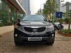 Bán xe Kia Sorento GAT 2.4 2013, màu đen