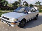 Bán ô tô Toyota Corolla 1.3 MT đời 1991, màu bạc