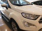 Bán Ford EcoSport Titanium đời 2018, màu trắng, giá chỉ 614 triệu