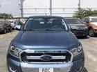 Bán Ford Ranger XLT đời 2017, màu xanh, nhập khẩu