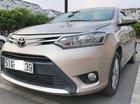 Bán ô tô Toyota Vios 1.5E MT 2017, màu vàng chính chủ