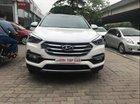 Bán Hyundai Santa Fe 2.2 AT 2017 full dầu, màu trắng