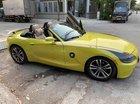 Cần bán BMW Z4 2003 ĐK 2008, số tự động, màu vàng, mui trần, 2 chỗ