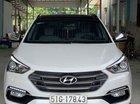 Cần bán xe Hyundai Santa Fe sản xuất năm 2018, màu trắng còn mới