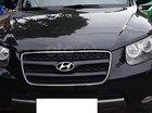 Bán Hyundai Santa Fe 2.2L 4WD đời 2007, màu đen, nhập khẩu