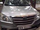 Cần bán lại xe Toyota Innova sản xuất năm 2015, màu bạc số sàn, 658 triệu