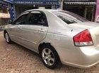 Cần bán lại xe Kia Cerato đời 2008, màu bạc, nhập khẩu nguyên chiếc số sàn, 187 triệu