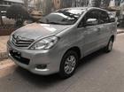 Innova G đời 2010, màu bạc, xe tư nhân, một chủ từ đầu 0981662851