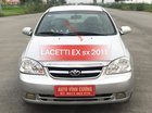 Bán ô tô Daewoo Lacetti 1.6EX 2011, màu bạc