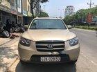 Cần bán xe Hyundai Santa Fe đời 2009, màu vàng chính chủ