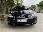 Cần bán gấp Toyota Corolla altis đời 2012, màu đen còn mới
