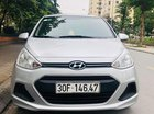 Chính Chủ bán xe Hyundai Grand i10 1.2MT 2015, màu bạc, nhập khẩu