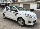 Cần bán xe Mitsubishi Mirage năm 2015, màu trắng, nhập khẩu Thái Lan, giá chỉ 246 triệu