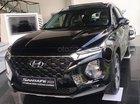 Bán Hyundai Santa Fe sản xuất 2019, màu đen giá cạnh tranh