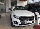 Bán xe Ford Ranger Wildtrak 4x2 Single Turbo đời 2019, màu trắng, nhập khẩu Thái Lan