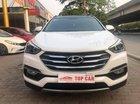 Bán Hyundai Santa Fe 2.2CRDI năm sản xuất 2017, màu trắng