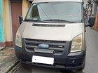 Cần bán gấp Ford Transit Van 2.4L sản xuất năm 2009, màu bạc