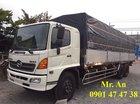 LH: 0901 47 47 38 - Xe tải Hino FL 3 chân, ga cơ, thùng nhôm siêu dài, mới 100%
