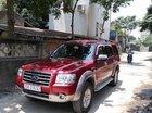 Gia đình bán Ford Everest 2009, màu đỏ số sàn