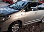 Cần bán gấp Toyota Innova đời 2014, màu bạc, nhập khẩu nguyên chiếc số sàn, giá 520tr