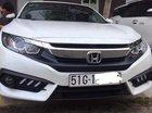Bán ô tô Honda Civic 1.8 2018, màu trắng, xe đi đúng 8000km