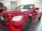 Bán Mercedes C200 2019 mới, màu đỏ Hyacinth, sở hữu xe chỉ với 470tr