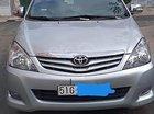 Cần bán lại xe Toyota Innova G sản xuất năm 2010, màu bạc, không dịch vụ