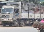 Bán xe tải Dongfeng Trường Giang 2 dí cũ tải 9,3 tấn thùng dài 10m