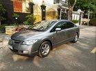 Cần bán lại xe Honda Civic sản xuất năm 2009, màu xám, xe nhập chính chủ, giá 355tr