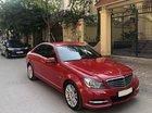 Cần bán xe Mercedes C250 sx 2012, màu đỏ, máy 1.8L, xe cực giữ gìn