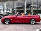 Bán xe BMW 420i Convertible mui trần mới 100%, số tự động, màu đỏ/nội thất nâu da bò