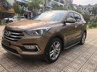 Cần bán gấp Hyundai Santa Fe 2.2L 4WD đời 2018, màu nâu
