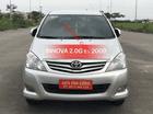 Bán Toyota Innova 2.0G 2009, màu bạc, biển 5 số