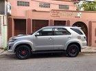 Cần bán gấp Toyota Fortuner G đời 2016, màu bạc số sàn