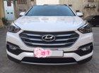 Bán Hyundai Santa Fe 2.2L 4WD đời 2018, màu trắng chính chủ
