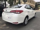 Cần bán xe Toyota Vios 1.5G CVT năm sản xuất 2019, màu trắng, mới 100%