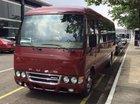 Thaco 22 - 29 chỗ/Fuso Rosa/động cơ Mitsubishi Nhật Bản/trả góp 70%, LH 0938 900 846