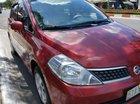 Gia đình bán Nissan Tiida 1.6 AT năm 2008, màu đỏ