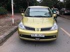 Cần bán Nissan Tiida 1.6 AT đời 2008, màu vàng, xe nhập