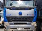Bán xe Howo A7 tải thùng mui bạt, Sx 2015, màu bạc