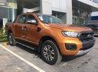 Bán Ford Ranger Wildtrack năm 2019, màu cam, nhập khẩu nguyên chiếc