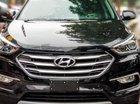 Bán xe Hyundai Santa Fe 2.4 AT sản xuất 2018, màu đen