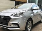 Hyundai Grand I10 Sedan Base bạc giao ngay, hỗ trợ đăng ký Grab, vay trả góp lãi suất chỉ 0.75%/ tháng. LH: 0903175312
