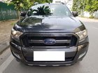 Ford Ranger Wildtrak 3.2 AT màu xám sản xuất và đăng ký 12/2017 biển Hà Nội