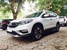 Bán Honda CRV 2.4 Sx 2015 màu trắng, tư nhân một chủ từ đầu