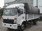 Bán xe tải 6 tấn, máy Howo Sinotruk, thùng dài 4m2