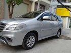 Bán Toyota Innova E cuối 2014 số sàn, màu ghi bạc