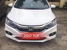 Cần bán Honda City Top sản xuất 2017, màu trắng