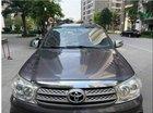 Bán xe Toyota Fortuner G đời 2010, màu xám xe gia đình